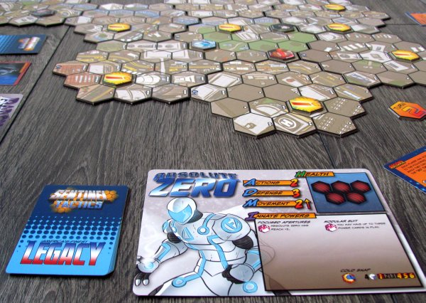 Sentinel Tactics - připravená hra