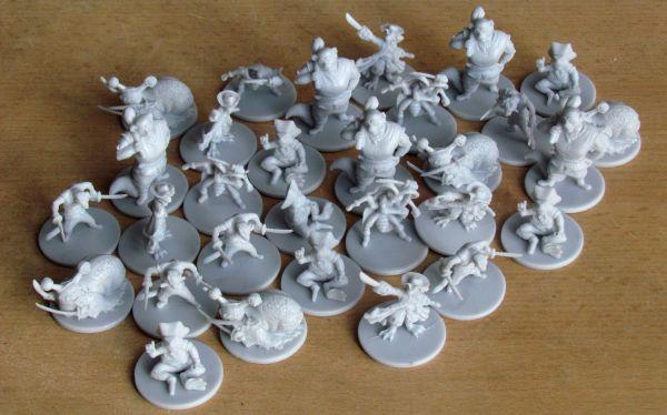 Sewer Pirats - miniatures