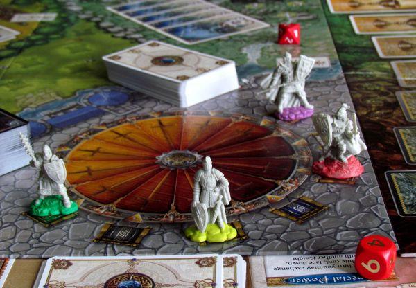 Shadows over Camelot - připravená hra
