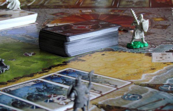 Shadows over Camelot - rozehraná hra