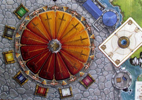 Shadows over Camelot - detail herního plánu