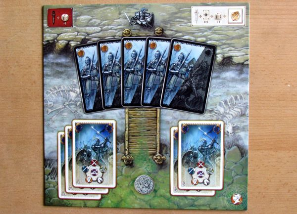 Shadows over Camelot - game board