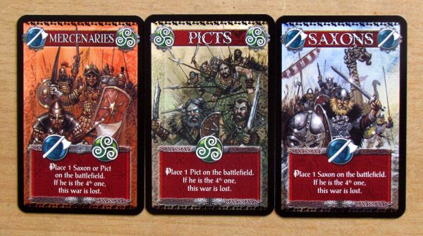 Shadows over Camelot - cards