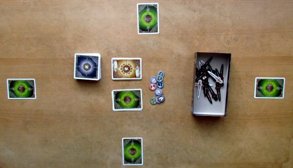 Shadows over Camelot: Card Game - game is ready
