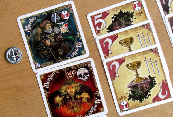 Shadows over Camelot: Card Game - game in progress