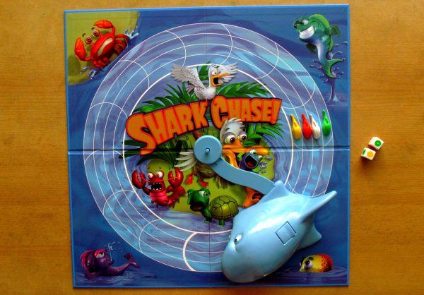 Shark Chase - připravená hra