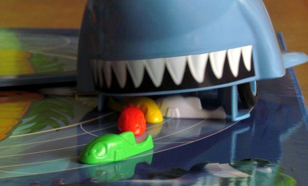 Shark Chase - rozehraná hra