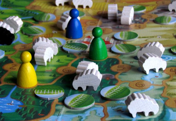 Sheepland - game in progress