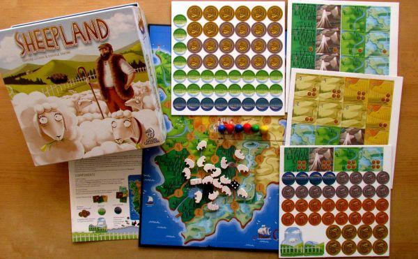 Sheepland - packaging