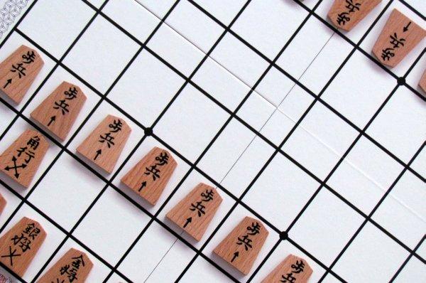 Shogi - připravená hra