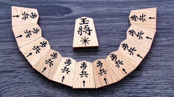 Shogi - kameny