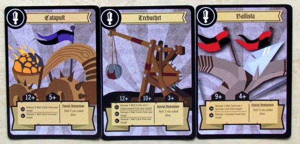 Siege - karty
