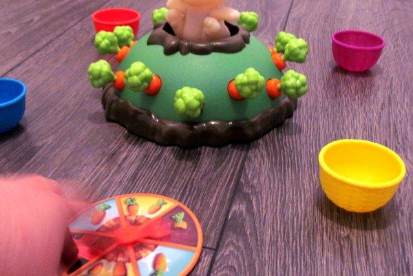 Skákající králíček - rozehraná hra