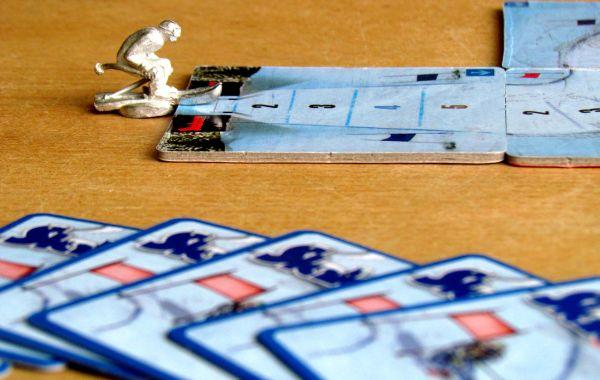 Slalom - připravená hra