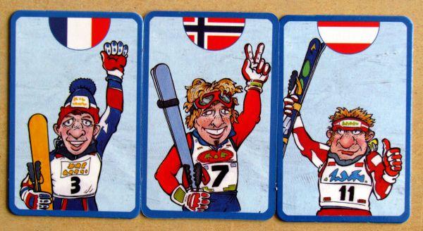 Slalom - karty