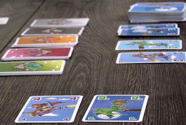 Slet čarodějnic - rozehraná hra