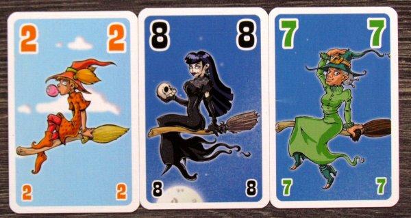Slet čarodějnic - karty