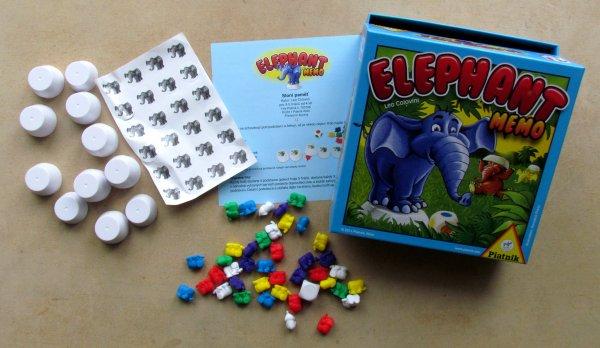 Sloní paměť - balení