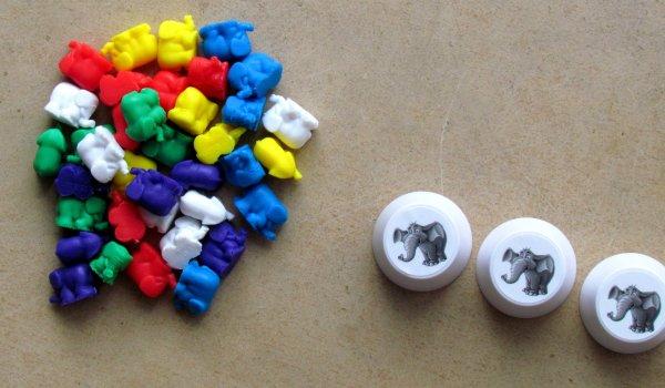 Sloní paměť - připravená hra