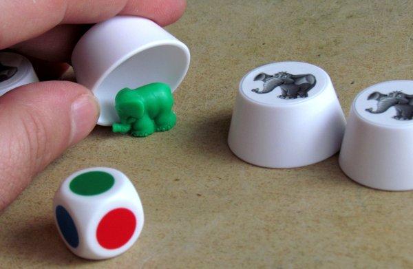 Sloní paměť - rozehraná hra