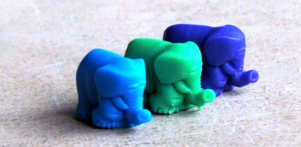 Sloní paměť - figurky
