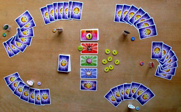 Smajlíci - připravená hra