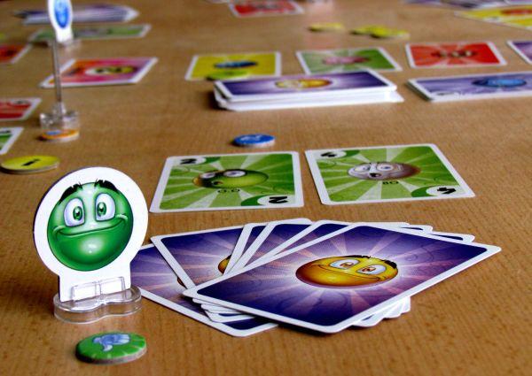 Smajlíci - rozehraná hra