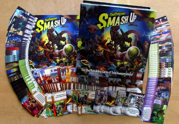 Smash Up - packaging
