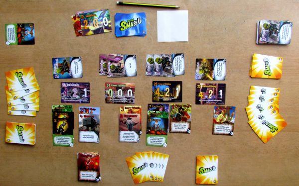Smash Up - rozehraná hra