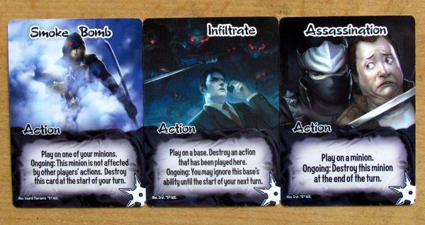 Smash Up - cards