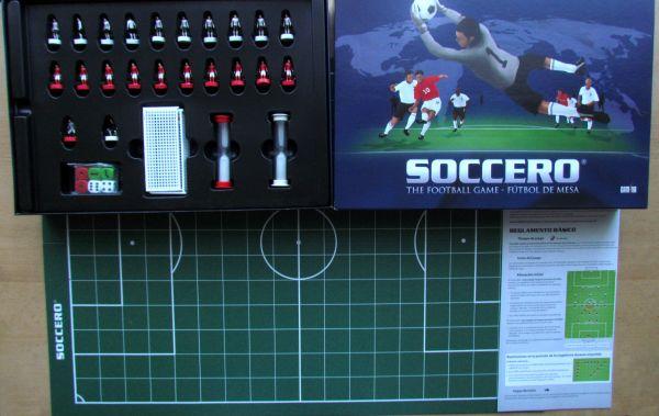 Soccero - balení
