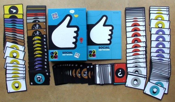 Social Network - packaging