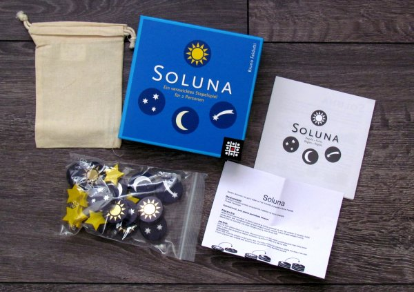 Soluna - balení