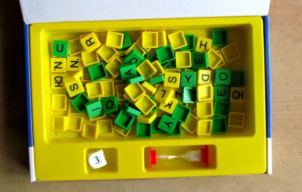 Souhlásky a samohlásky - krabice