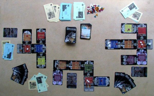 Space Station - rozehraná hra