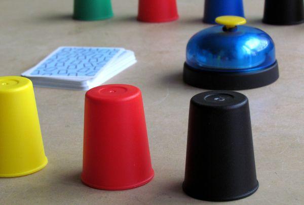 Speed Cups - připravená hra