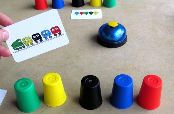 Speed Cups - rozehraná hra