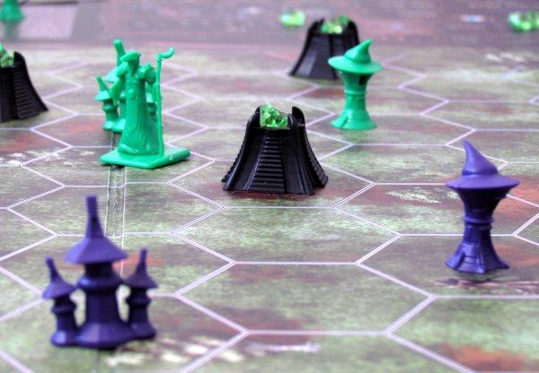 Spells of Doom - rozehraná hra