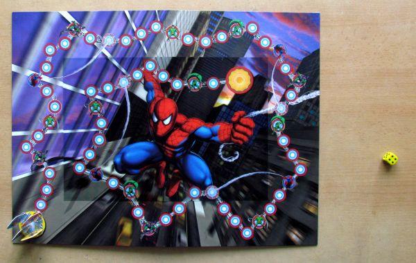 Spiderman: Spiderweb 3D - připravená hra