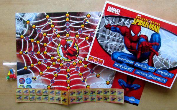 Spiderman: Pavoučí síť - balení