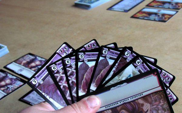 The Spoils CCG - připravená hra