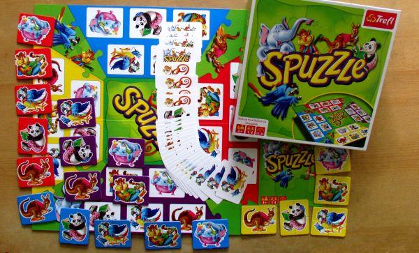 Spuzzle - balení