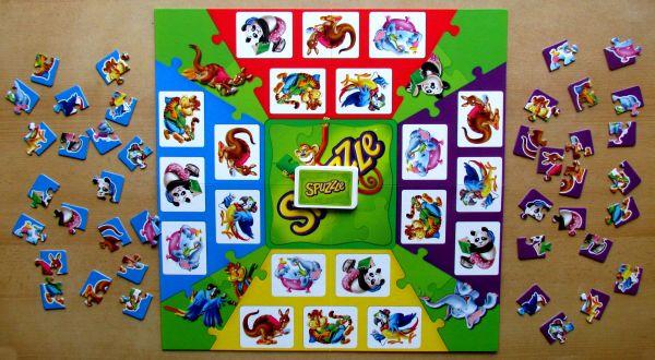 Spuzzle - připravená hra