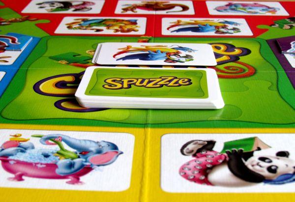 Spuzzle - rozehraná hra
