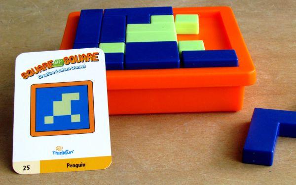 Square by Square - průběh řešení