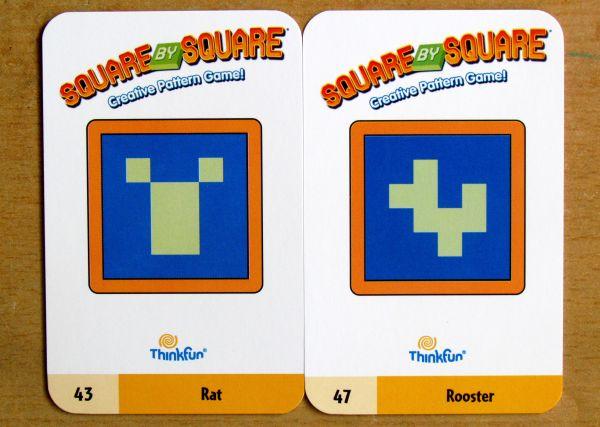 Square by Square - karty zadání
