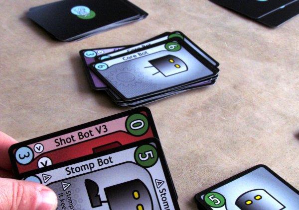 Stak Bots - game in progress