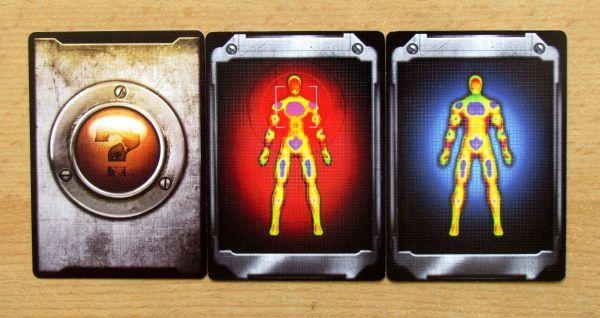 Stanice Paranoia - karty