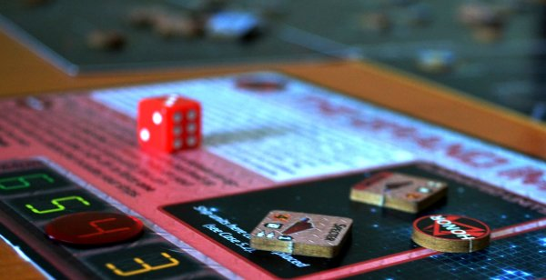 Star Borders: Humanity - rozehraná hra