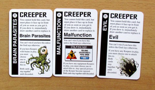 Star Fluxx - creeper cards